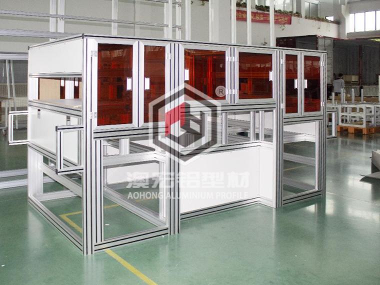 铝型材框架取代焊接框架已是大势所趋