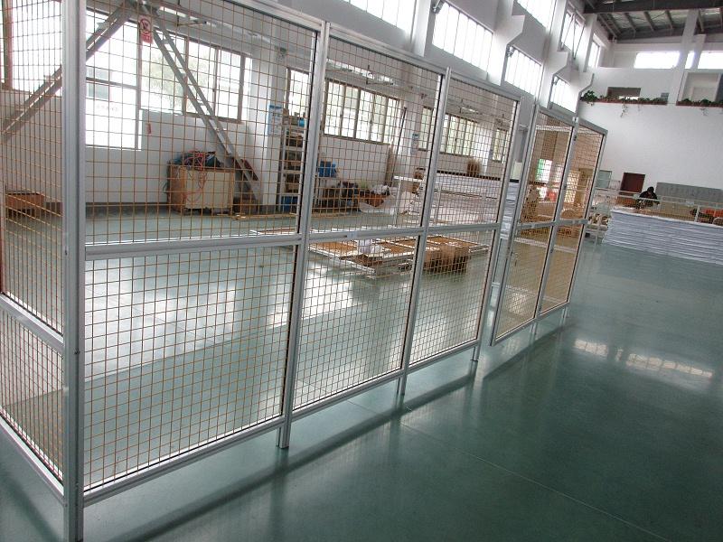 澳宏铝业铝型材围栏