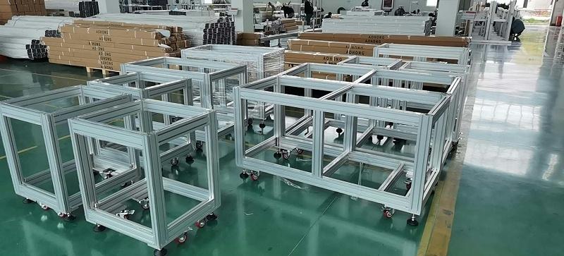 澳宏铝业口罩机框架
