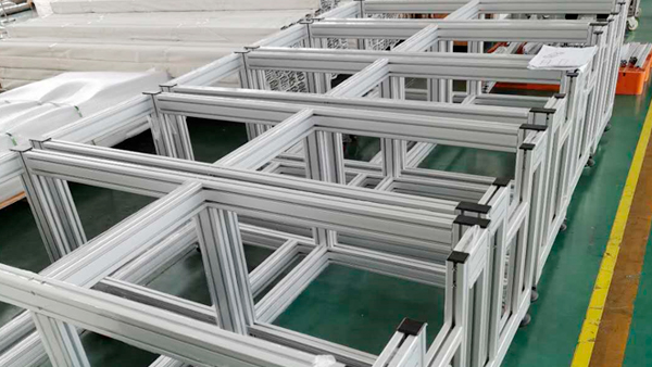 澳宏铝业铝型材口罩机框架