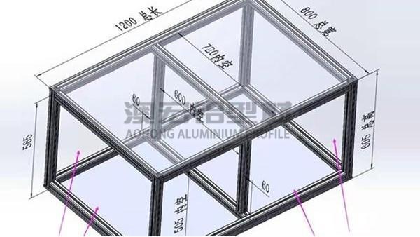 怎样正确安装工业铝型材框架