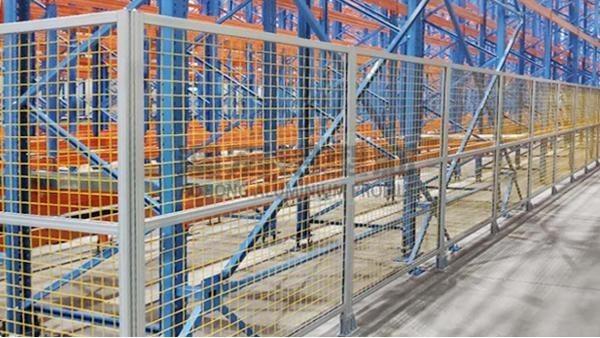 关于自动化生产线防护围栏