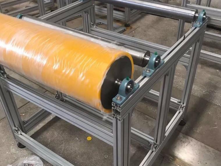 熔喷布支架定制用5050规格铝型材/4080型号铝型材更省钱省事省时间!