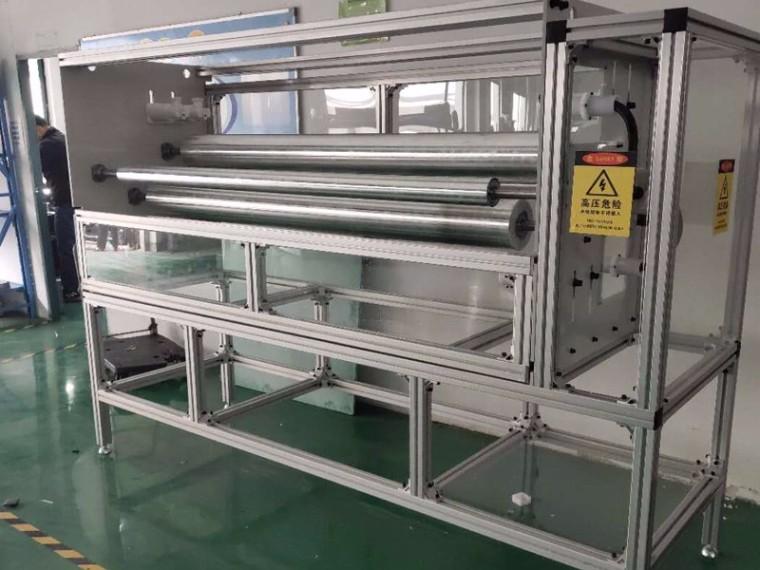 存放熔喷布使用哪种材料的仓储货架?澳宏提供全套铝型材货架方案!