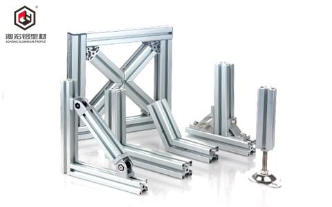 连接固定铝型材
