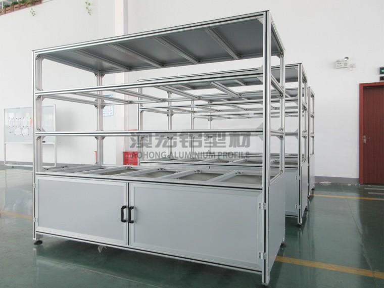 澳宏生产线工作台承载能力强,抗冲击能力高