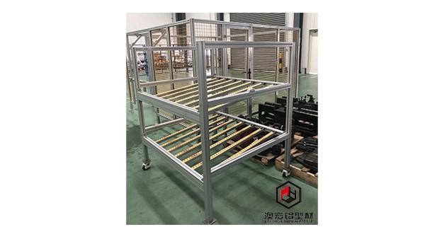 工业铝合金型材框架-上海澳宏铝业十二年铝合金型材框架定制生产厂家
