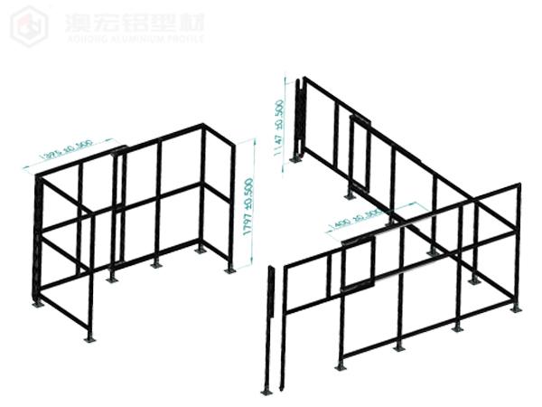 澳宏铝业设备防护围栏