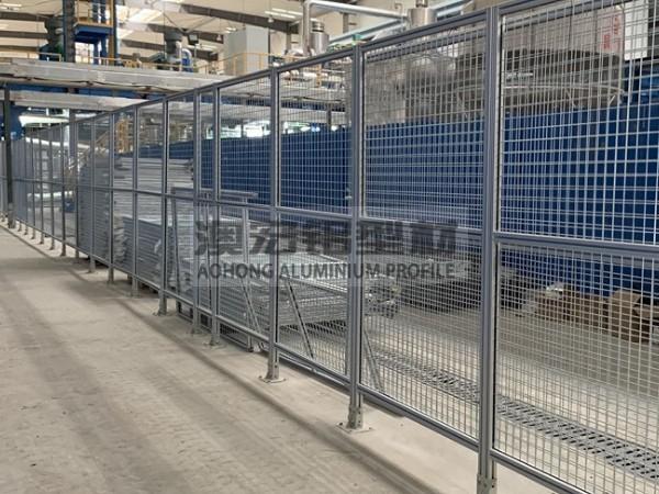 车间分区隔离网围栏