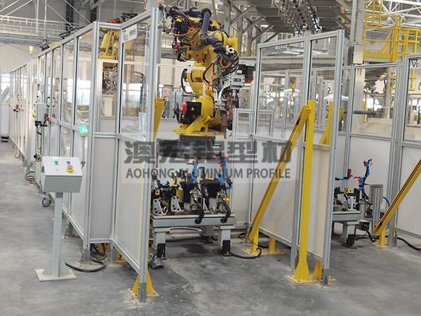 机器人安全隔离围栏
