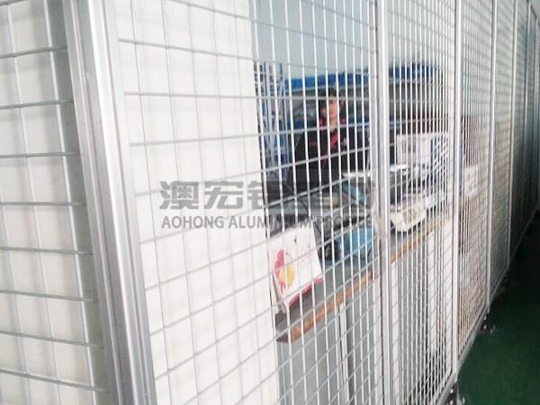 工厂改造隔离围栏
