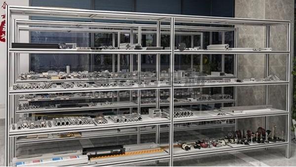 铝型材框架钣金件展示柜