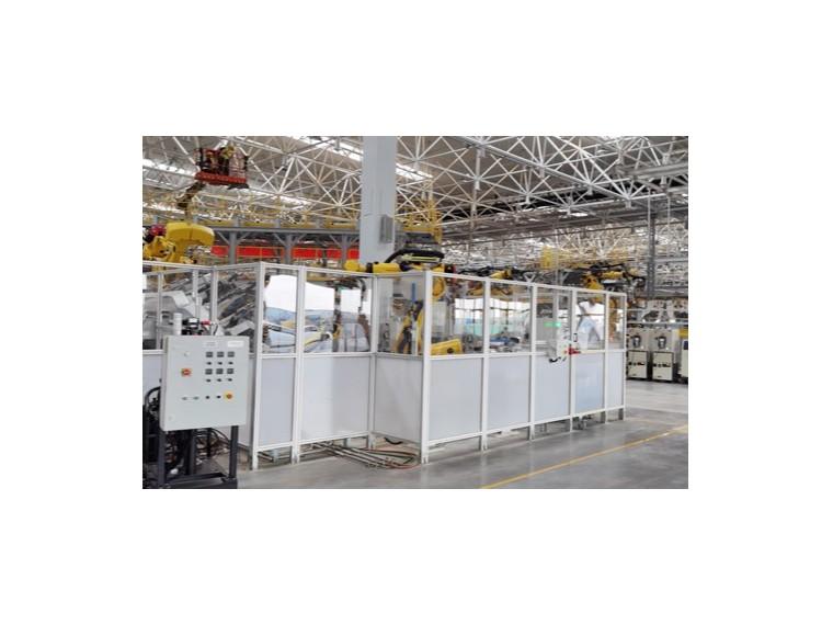 工业铝型材围栏到底有哪些优点呢?