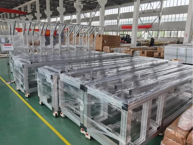 为什么工厂设备机架都纷纷改用铝型材机架?