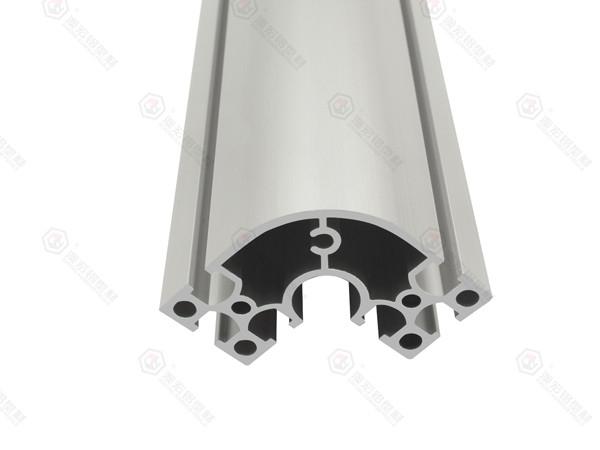 立柱半圆铝型材3060