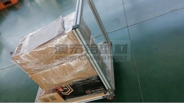 仓库车间铝型材物料小推车为啥受欢迎