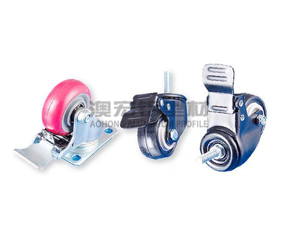 铝型材框架脚轮