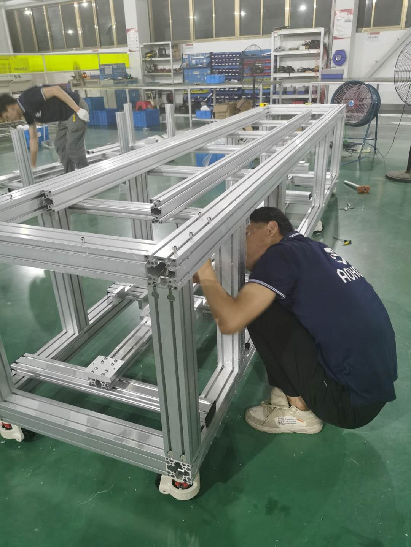 自动化设备工业铝型材选型