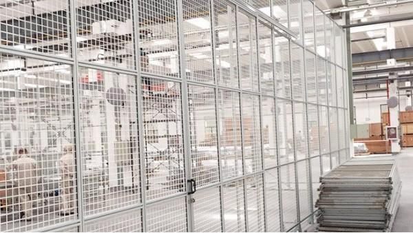 3030工业铝型材能定做机器人护栏网吗?