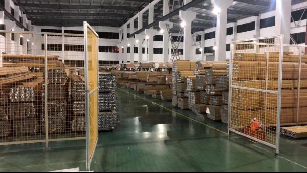 铝型材安全围栏 防护围栏 车间防护栏生产厂家-澳宏铝业