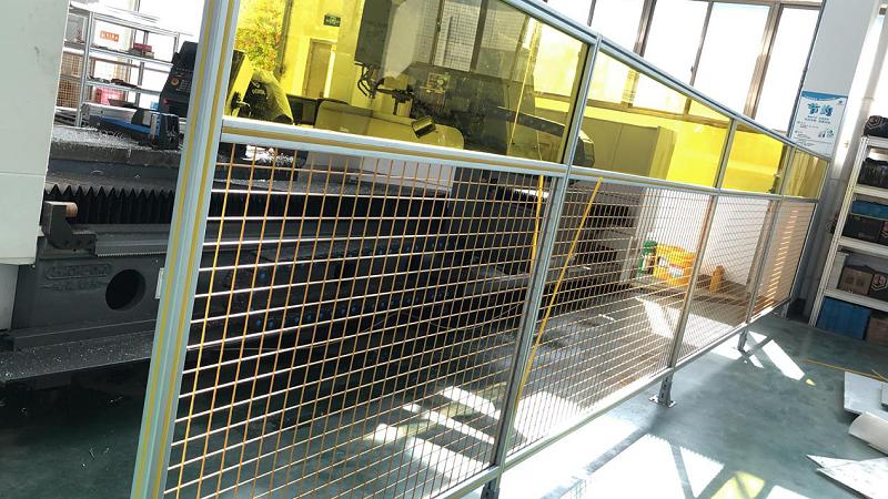 铝型材设备防护围栏