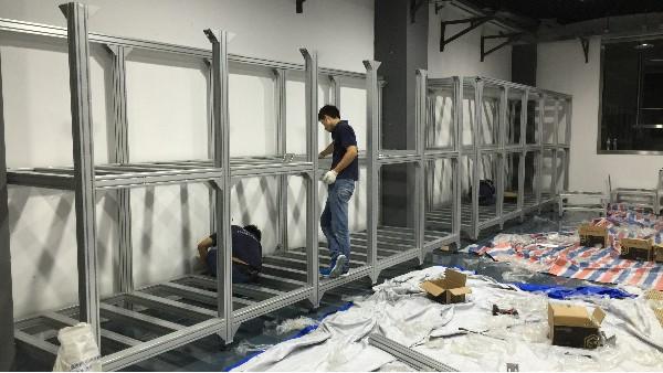 澳宏铝业-定制铝型材框架1000+结构连接玩转设计