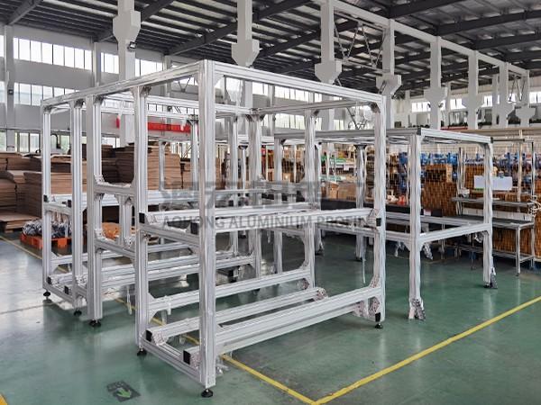 大型非标自动化设备机架