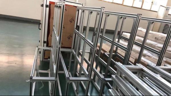 工业铝型材架子-上海澳宏铝业十二年铝型材架子生产厂家