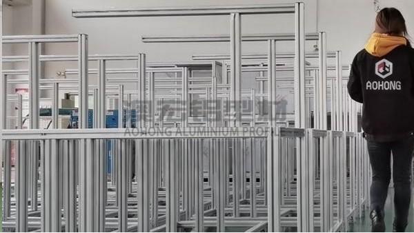 铝型材机架安装要注意哪些细节