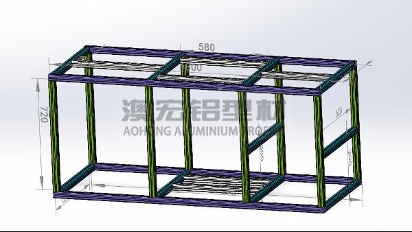 工厂设备支架改用铝型材设备机架的优点