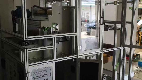 铝型材防粉尘飞溅设备防护罩-澳宏铝业