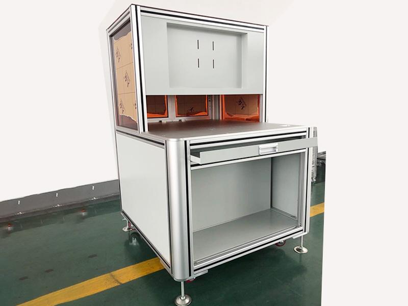 检测仪铝框架