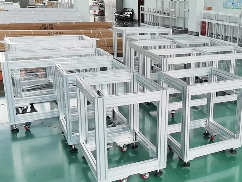 电池检测设备铝框架