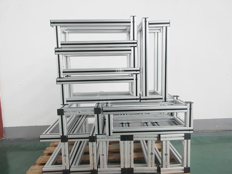 定制电池检测设备铝框架