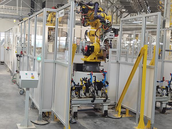 机器人安全围栏
