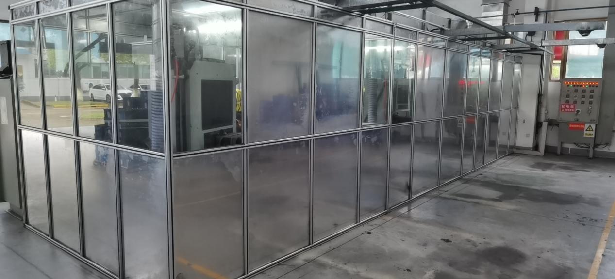 铝型材焊接房定做
