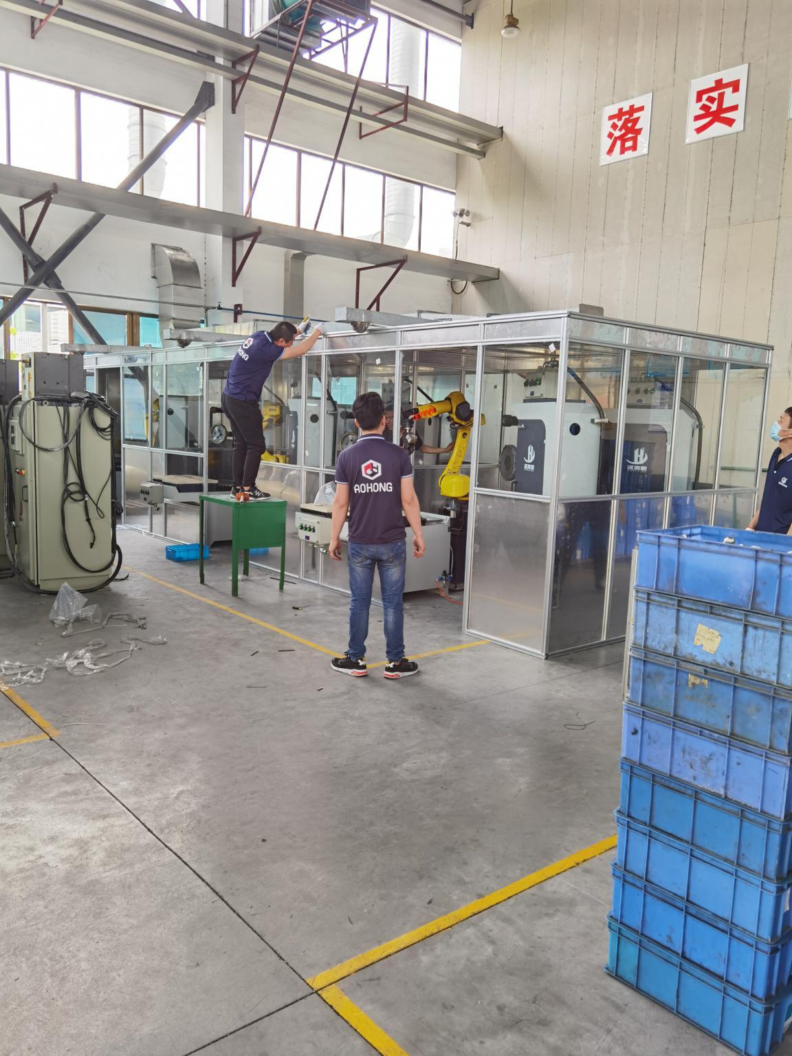 铝型材焊接房厂家