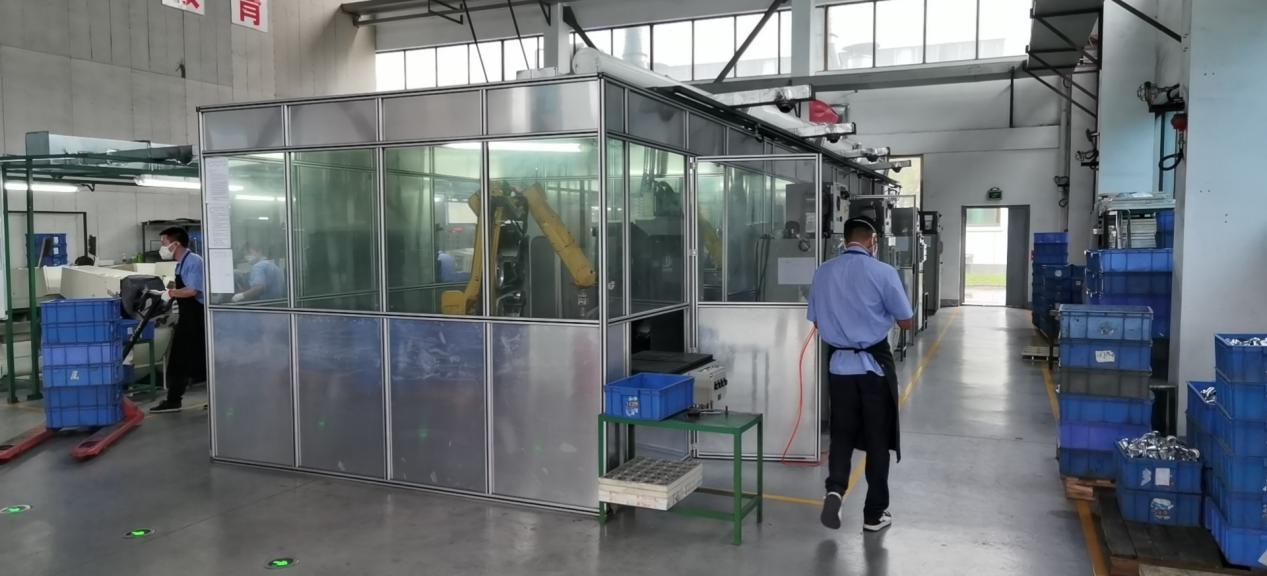 定做铝型材焊接房