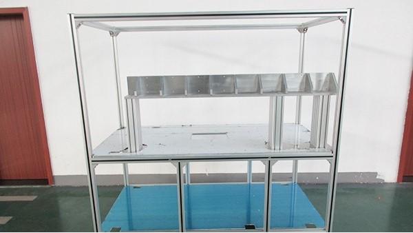 车间防静电工作台铝型材-澳宏铝业公司生产制造厂家