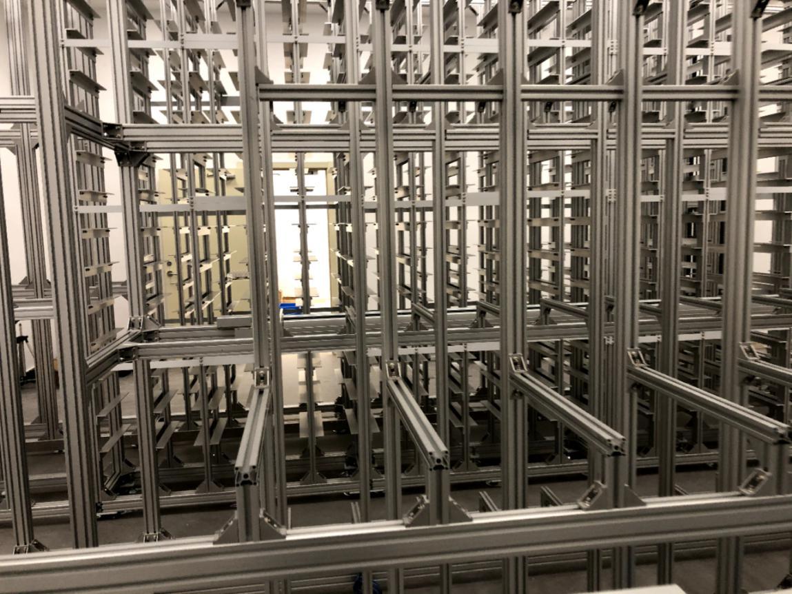 铝型材立体库