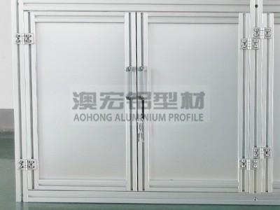 铝型材双开门