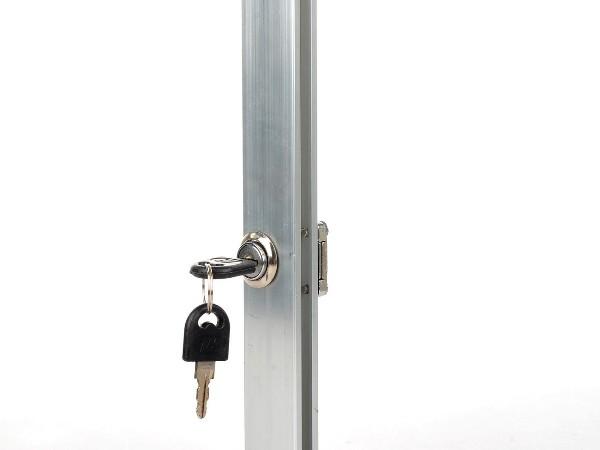 金属方形锁