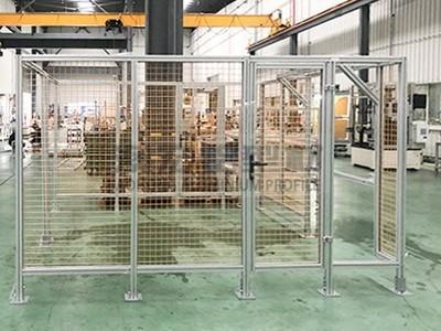 仓库铝型材围栏