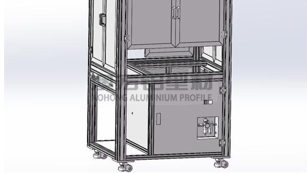 铝型材机柜结构解析