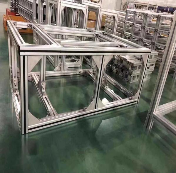 铝型材框架组装