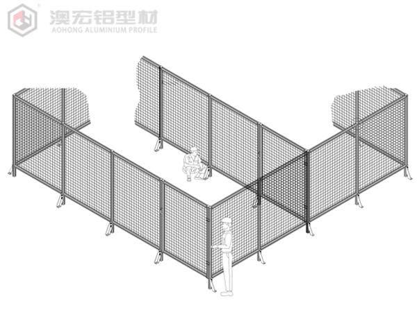 铝型材安全围栏