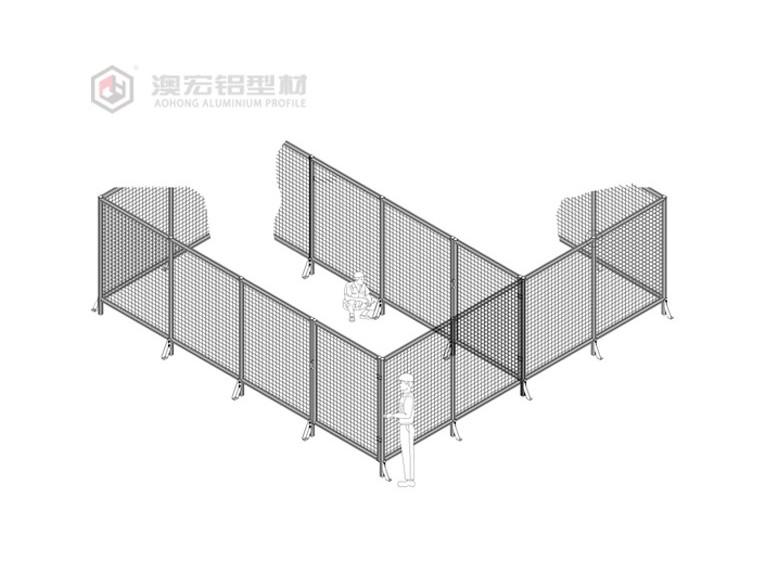 定制工业铝型材围栏需要重点注意什么