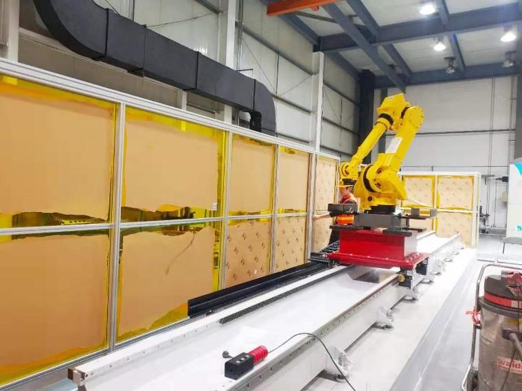 机器人防护围栏-上海澳宏铝业十二年铝型材防护围栏定制生产厂家
