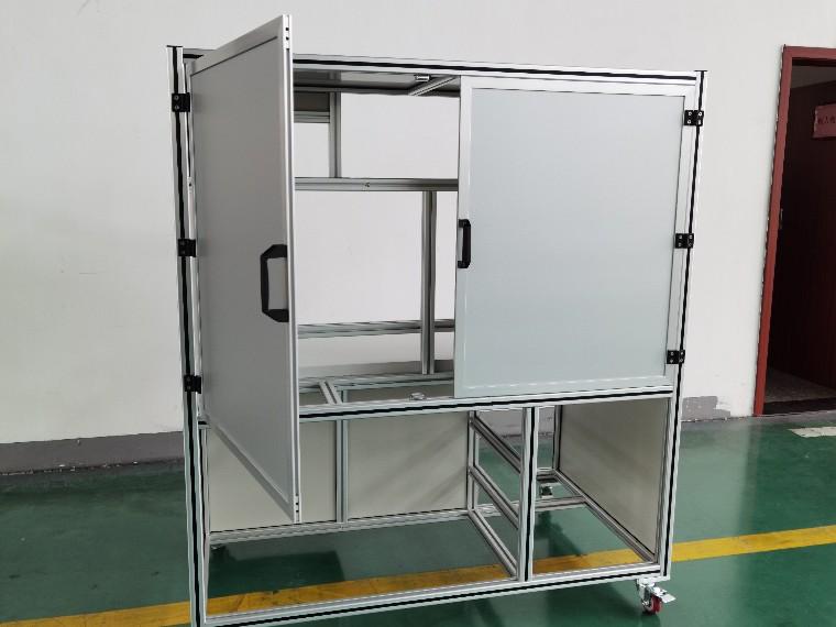 点胶机铝型材框架定制 支架铝型材加工生产厂家-澳宏铝业