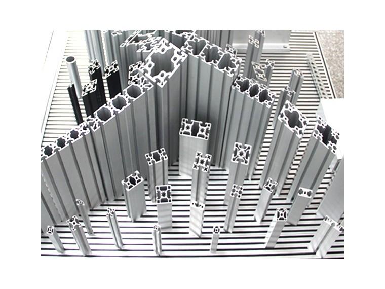 工业铝型材可用于哪些型号制作框架?